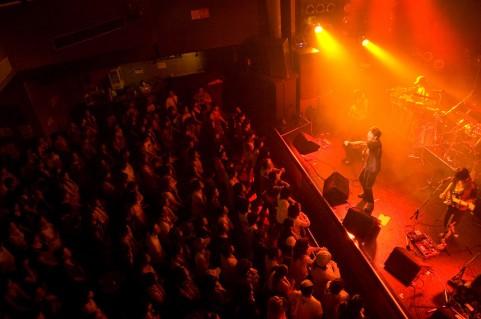ステージ 聴衆
